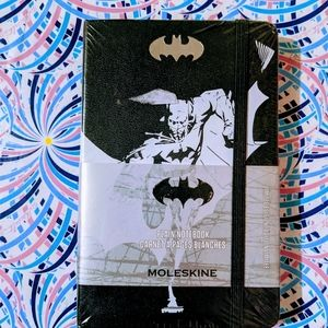 Batman plain moleskin notebook